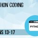 Python Coding for Teens