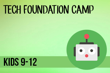 Tech Foundation Camp for Kids
