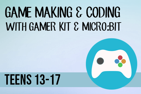 Game Making & Coding Course Teens