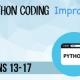 Python Coding Improver Teens